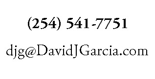 Contact email and cell phone for David Garcia